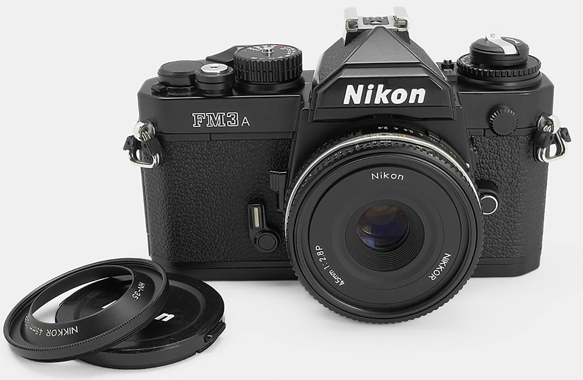 Nikon Nikkor 45mm 1:2.8P