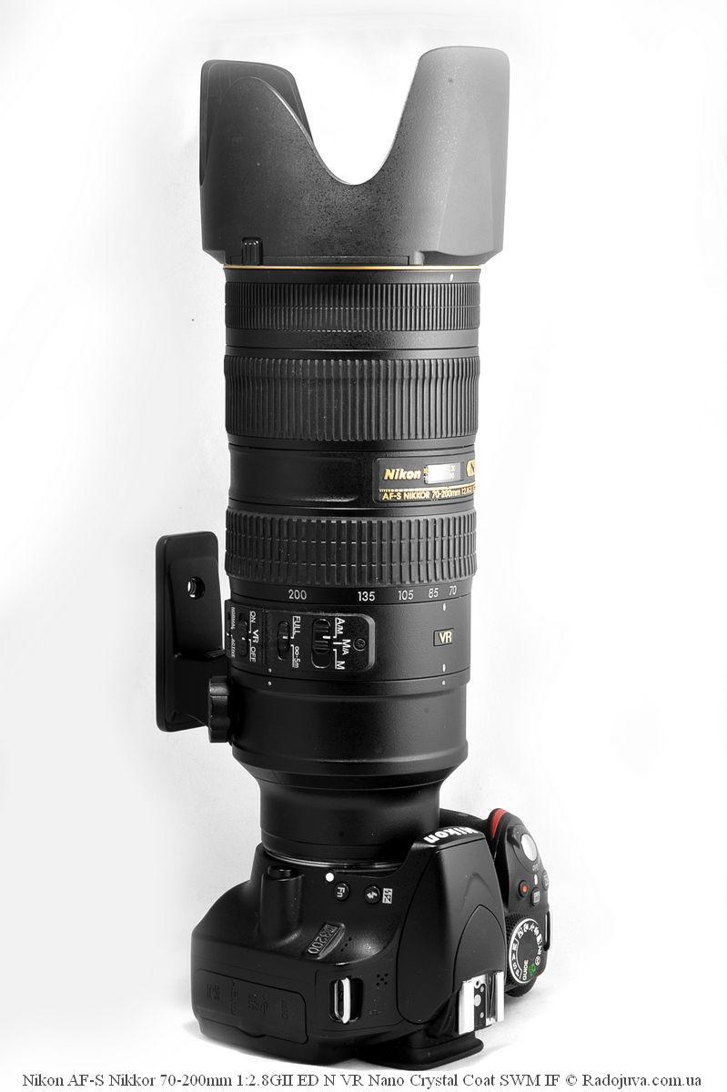 Объектив Nikon 70-200 F2.8 VR2