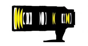 Оптическая схема Nikon AF-S Nikkor 70-200mm 1:2.8GII ED N VR