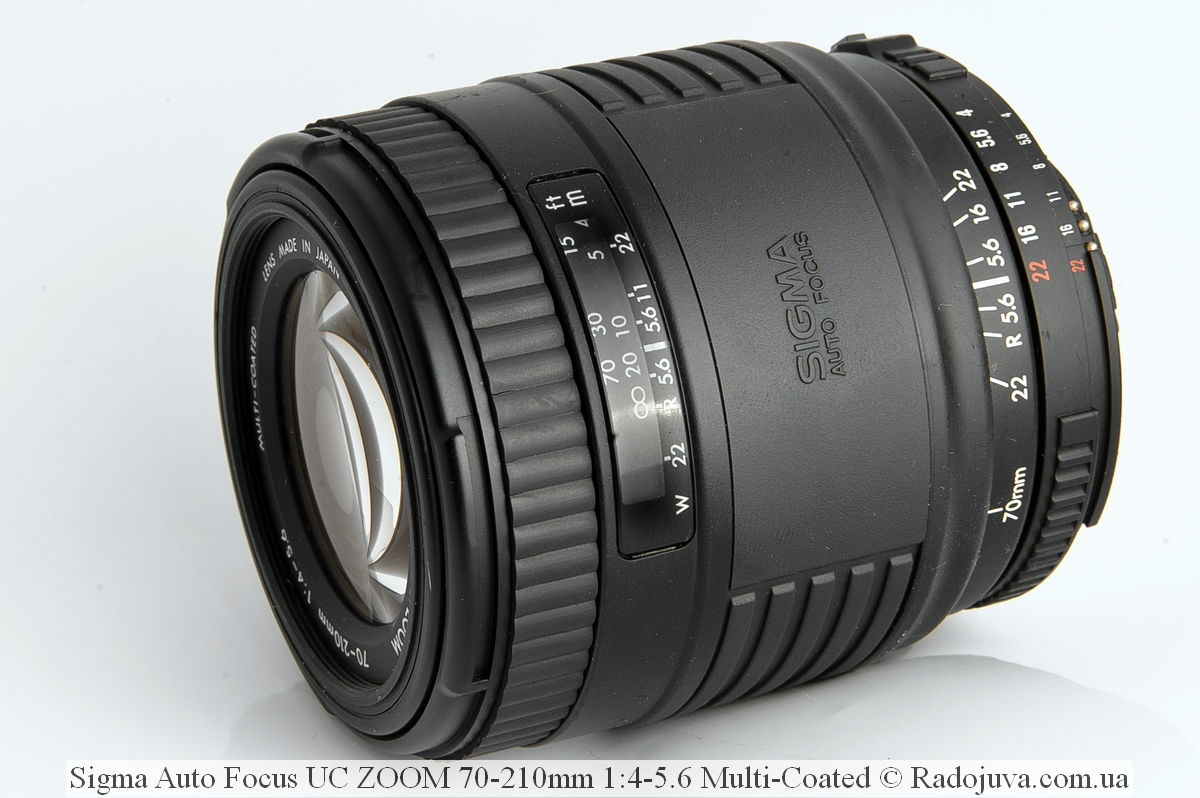 Sigma Auto Focus UC ZOOM 70-210mm 1:4-5.6 Multi-Coated