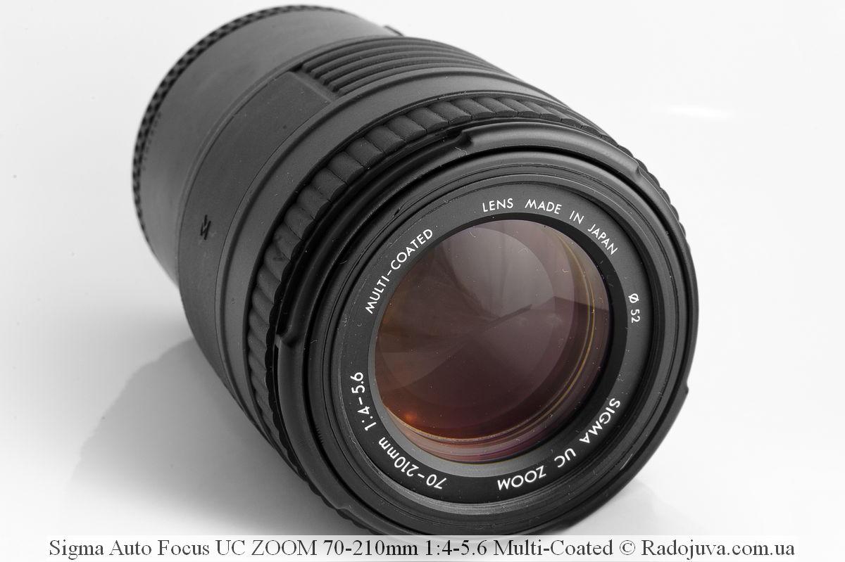 Sigma Auto Focus UC ZOOM 70-210mm 1:4-5.6 Multi-Coated