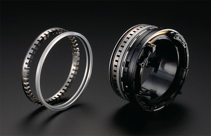 Части кольцевого мотора Nikon SWM