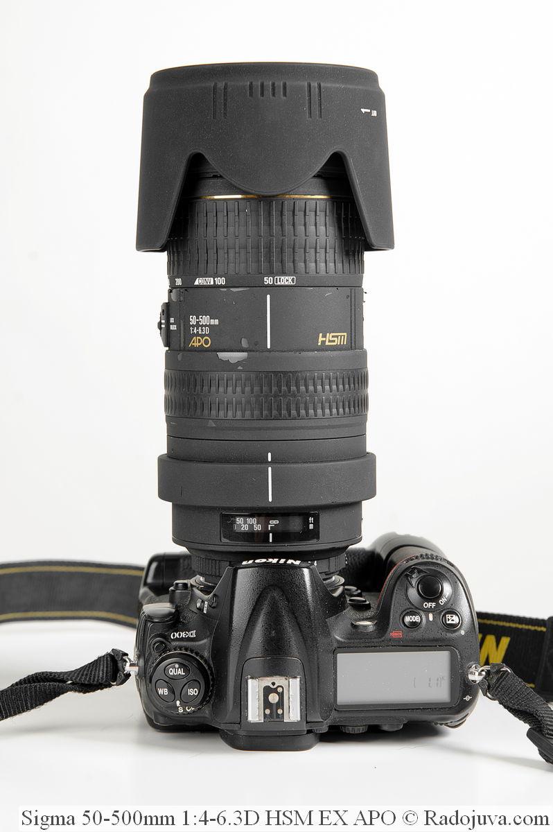 Sigma 50-500mm 1:4-6.3D HSM EX APO