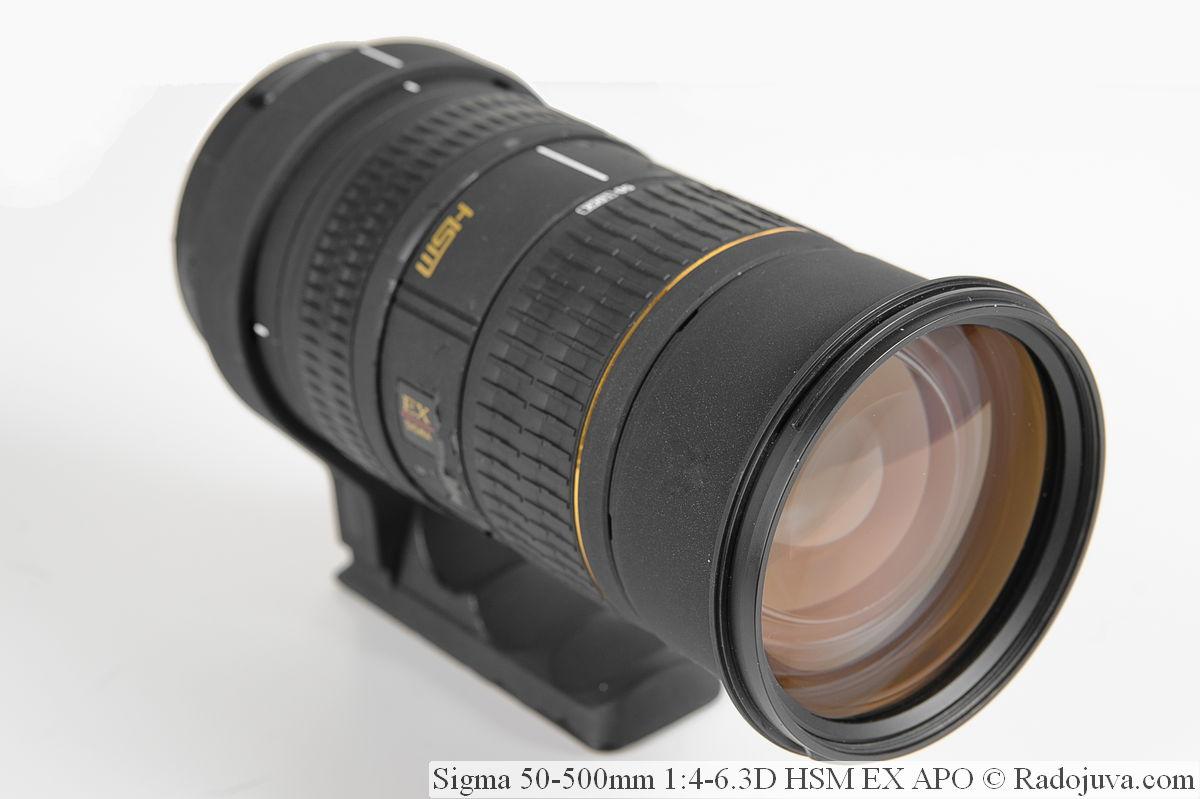 Объектив Sigma 50-500mm 1:4-6.3D HSM EX APO