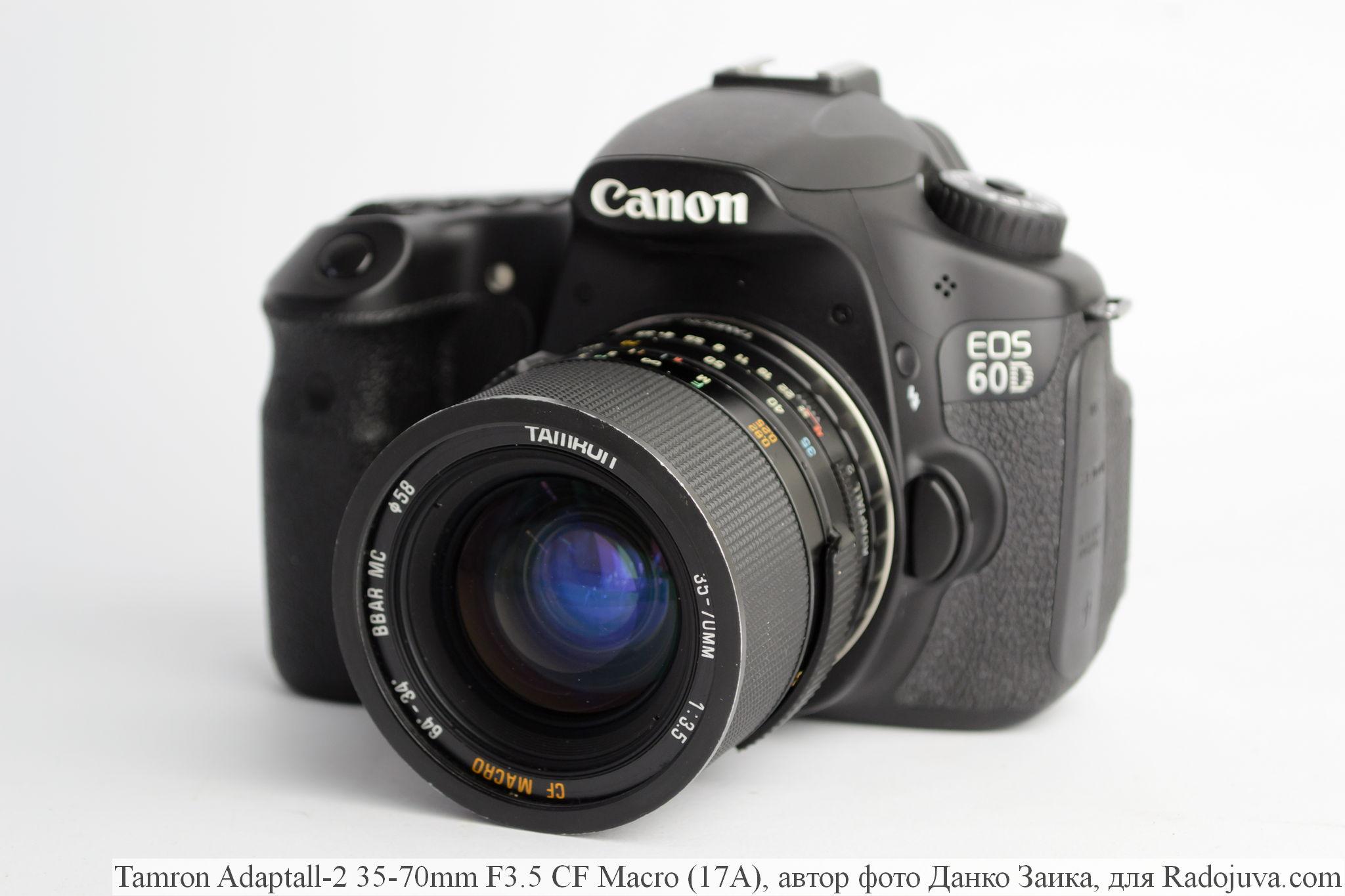 Tamron Adaptall-2 35-70mm F3.5 CF Macro (17A)