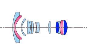 Оптическая схема Tokina 11-16