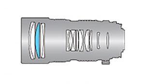 Оптическая схема Tokina 80-200