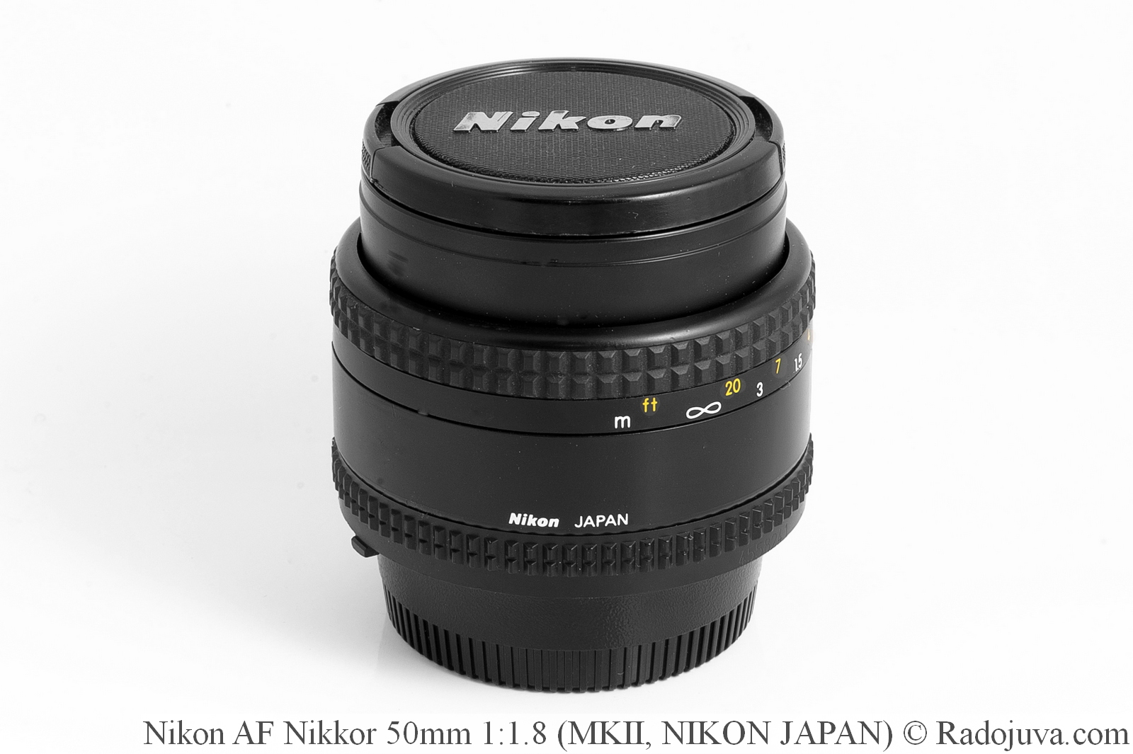 Nikon AF Nikkor 50mm 1:1.8, версия MKII, NJ (NIKON JAPAN)