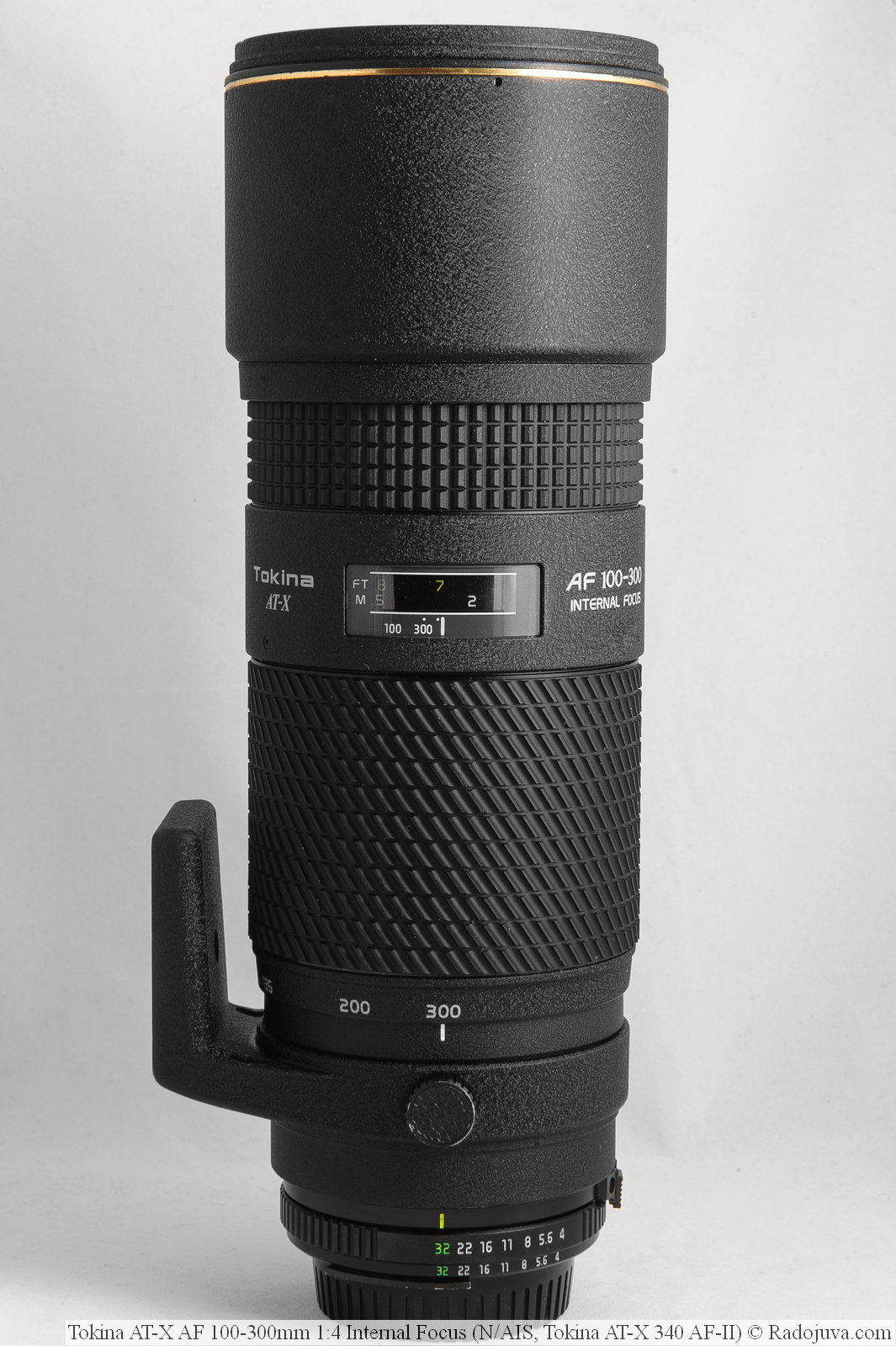 Tokina AT-X AF 100-300mm 1:4 Internal Focus (N/AIS, Tokina AT-X 340 AF-II)
