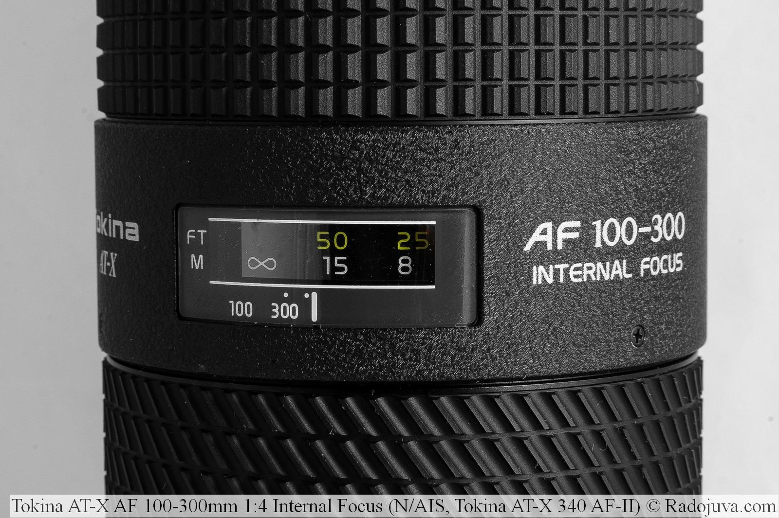 Tokina AT-X AF 100-300mm 1:4 Internal Focus (N/AIS, Tokina AT-X 340 AF-II)