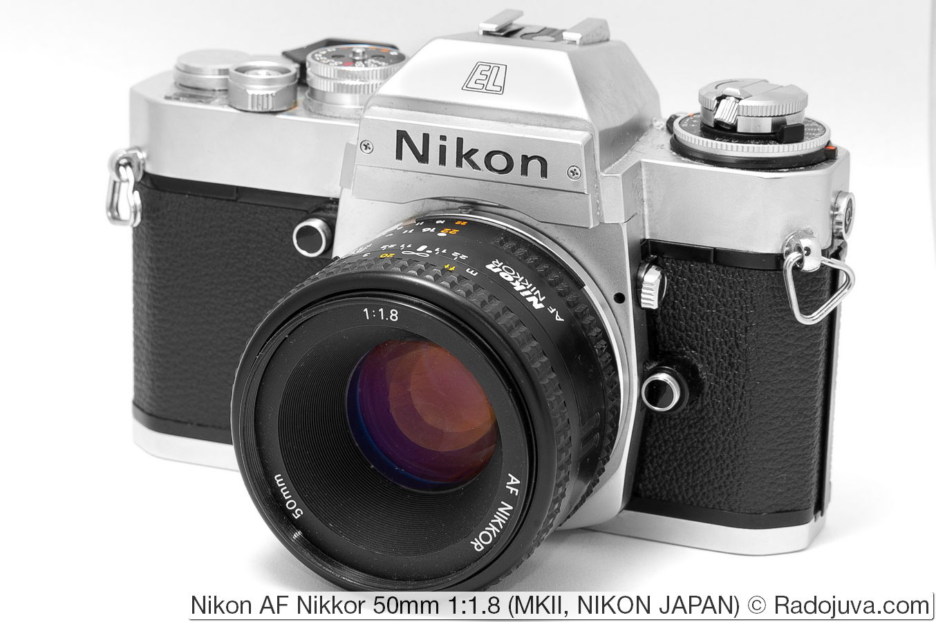 Nikon AF Nikkor 50mm 1: 1.8, MKII version, NJ (NIKON JAPAN)