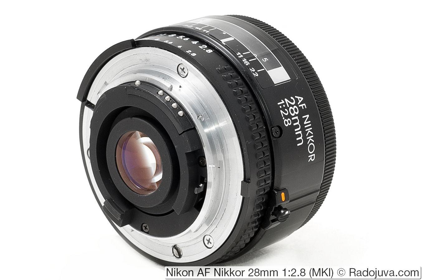 Nikon AF Nikkor 28mm 1:2.8 (MKI)