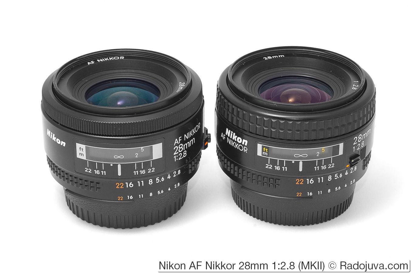 Nikon AF Nikkor 28mm 1:2.8 (MKII)
