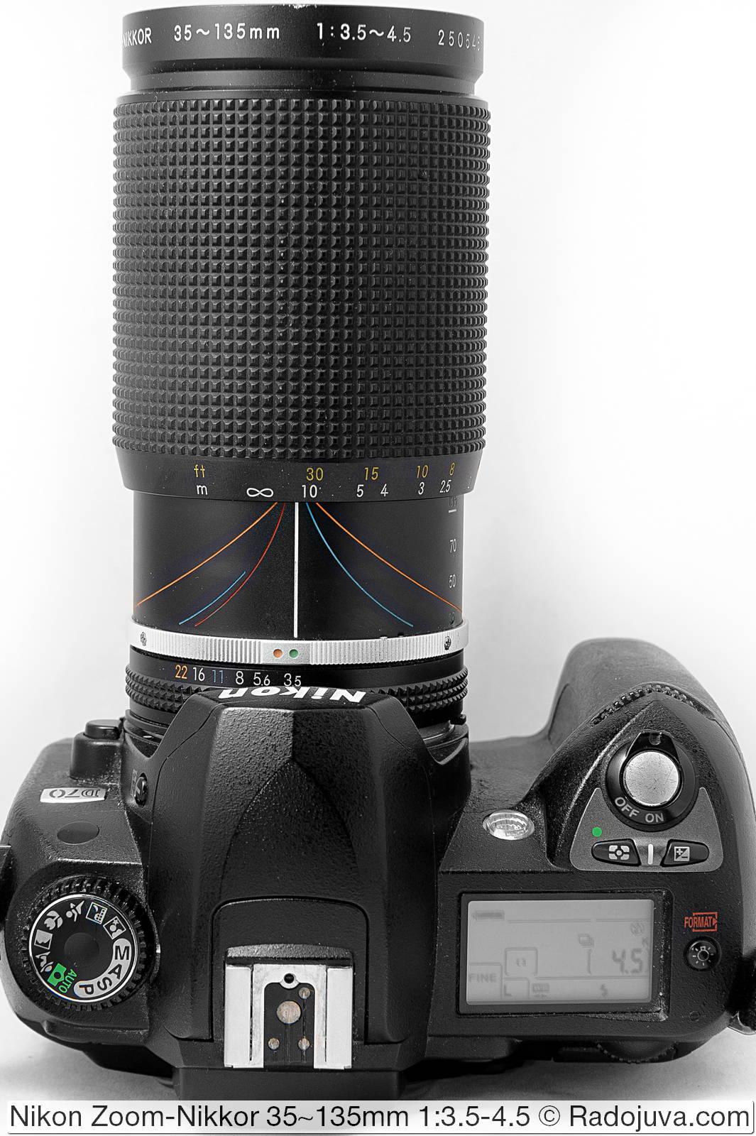 Nikon Zoom-Nikkor 35-135mm 1:3.5-4.5 (AI-S)