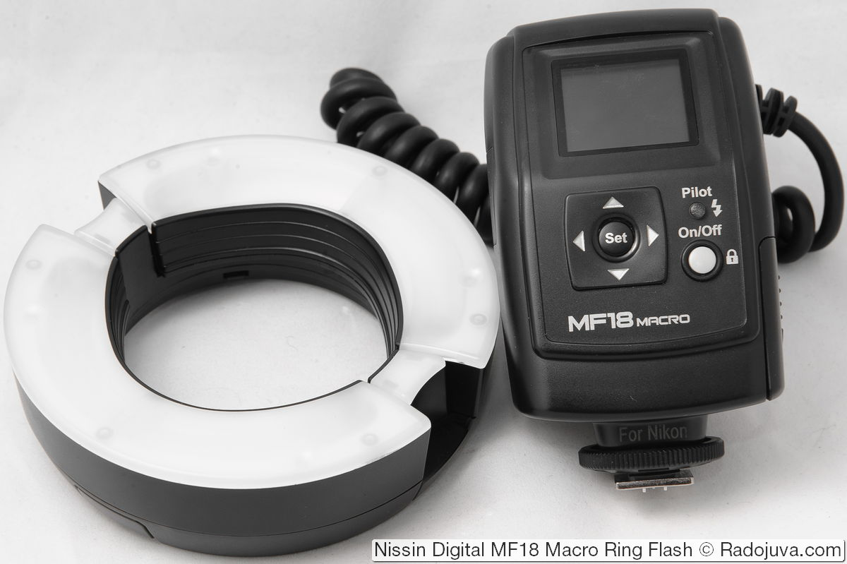 Nissin Digital MF18 Macro Ring Flash