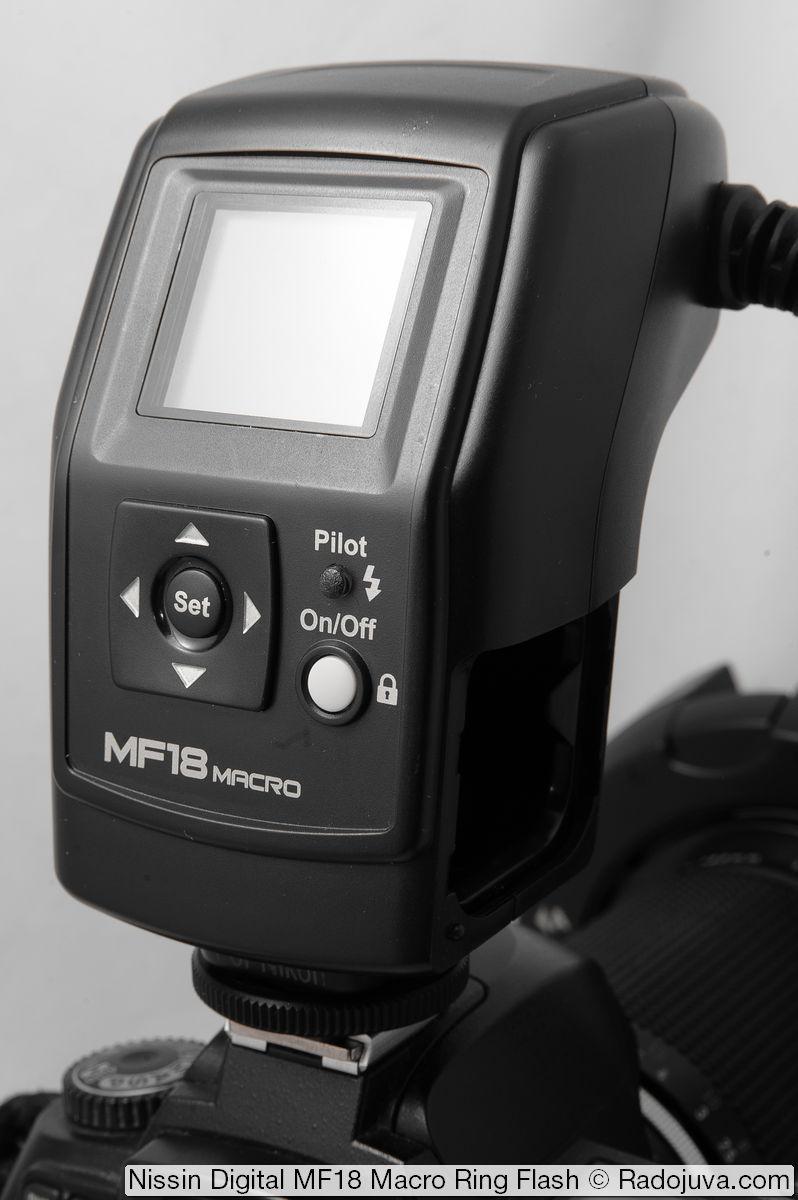 Блок управления вспышки Nissin Digital MF18 Macro Ring Flash