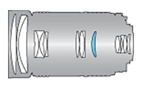 Оптическая схема Tokina 80-400