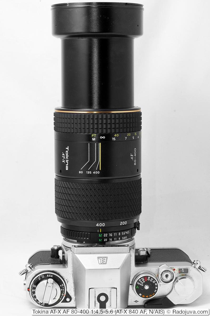 Tokina AT-X AF 80-400 1:4.5-5.6 (AT-X 840 AF)