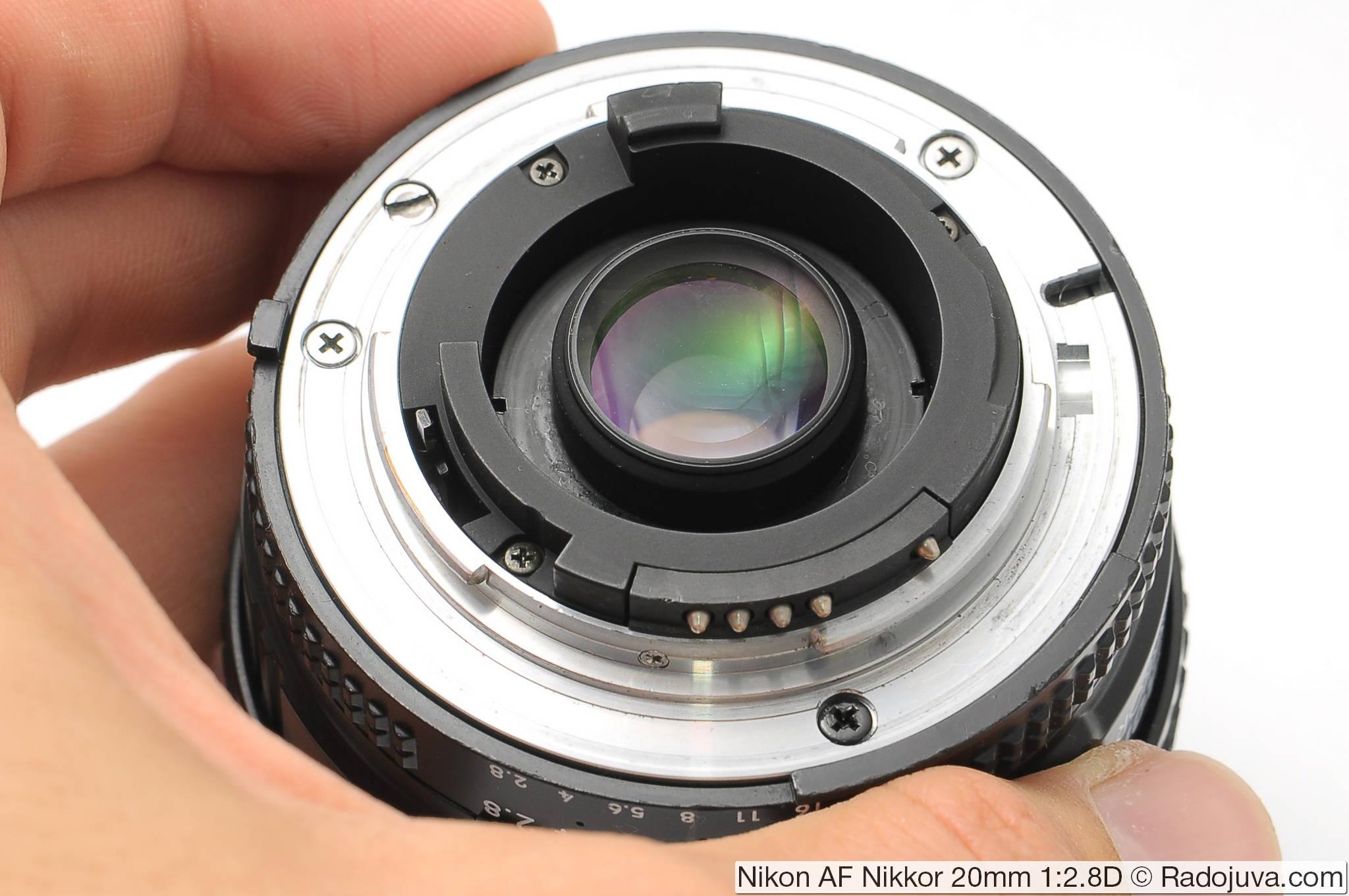 Nikon 20 / 2.8D