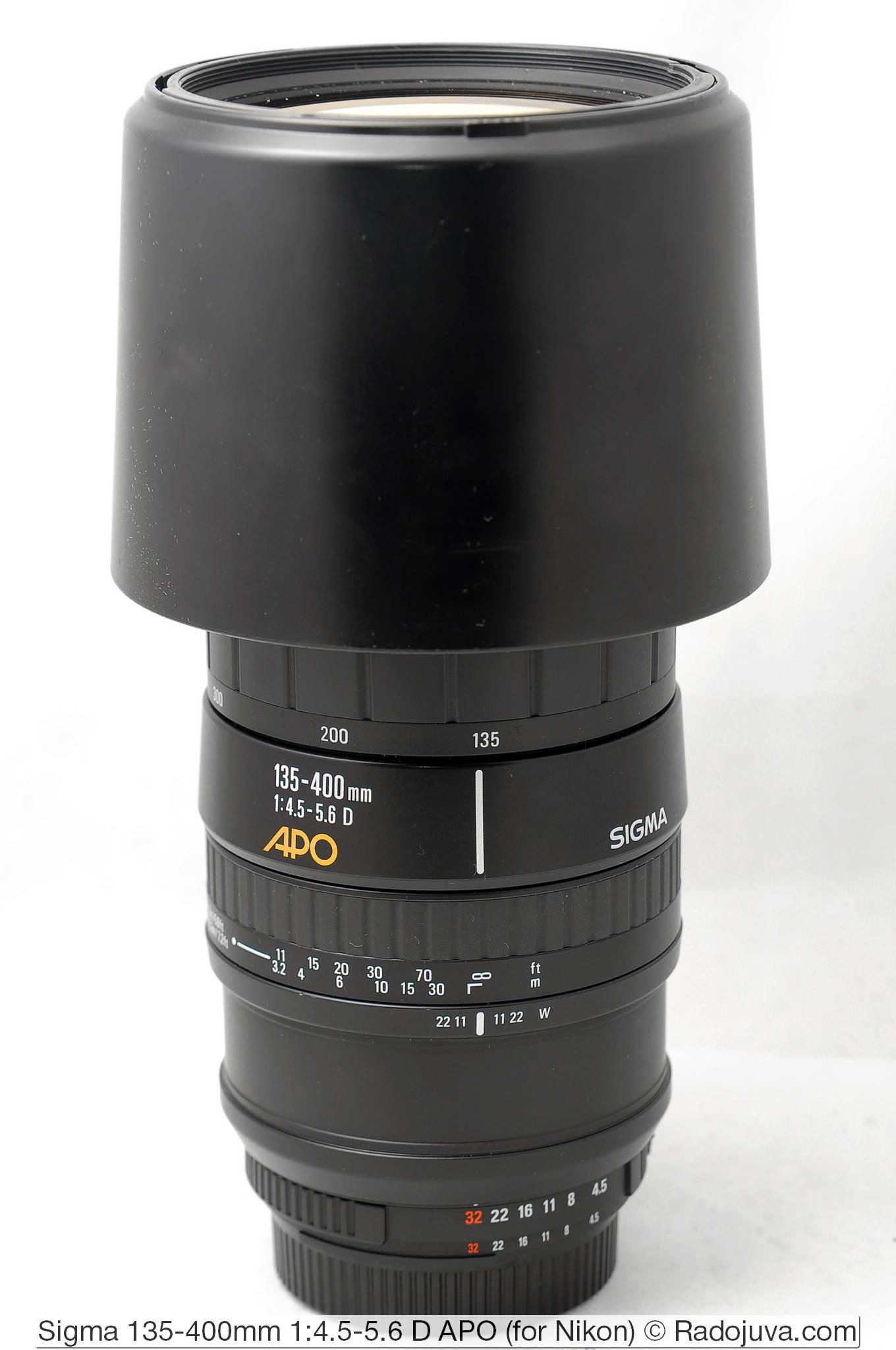 Sigma 135-400/4.5-5.6