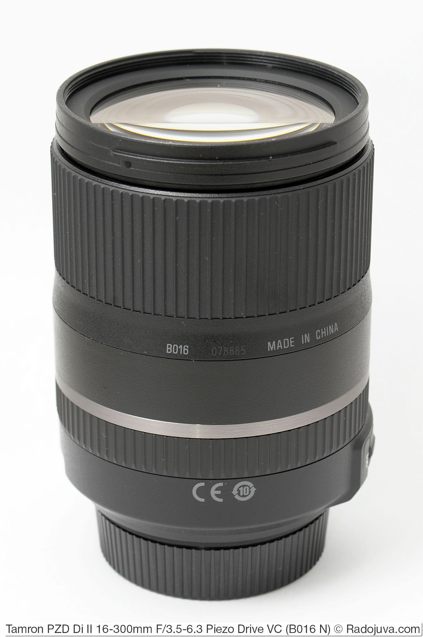 Tamron 16-300mm F/3.5-6.3 Di II PZD VC Model B016