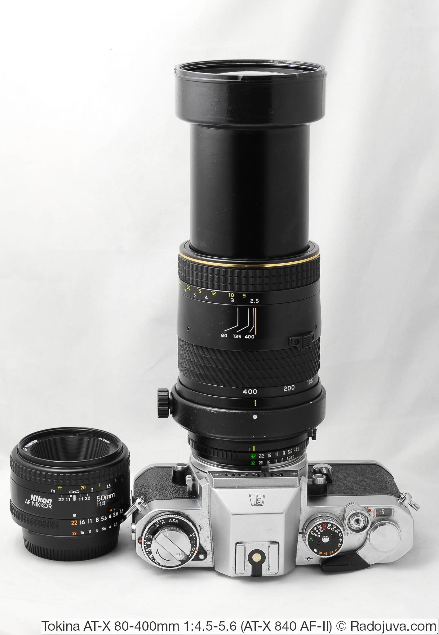 Tokina AT-X 80-400mm 1:4.5-5.6 (AT-X 840 AF-II)