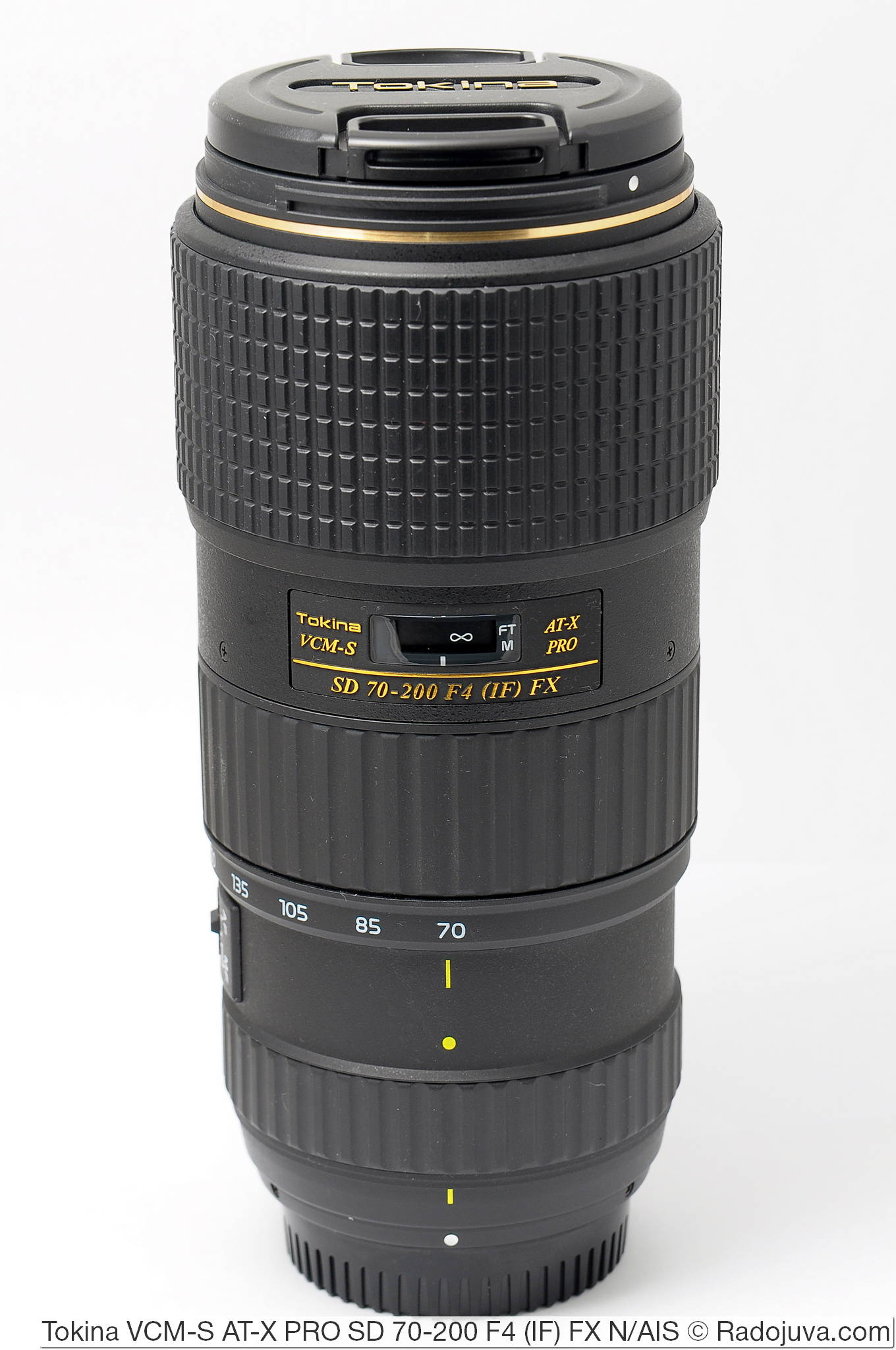Tokina VCM-S AT-X PRO SD 70-200 F4 (IF) FX