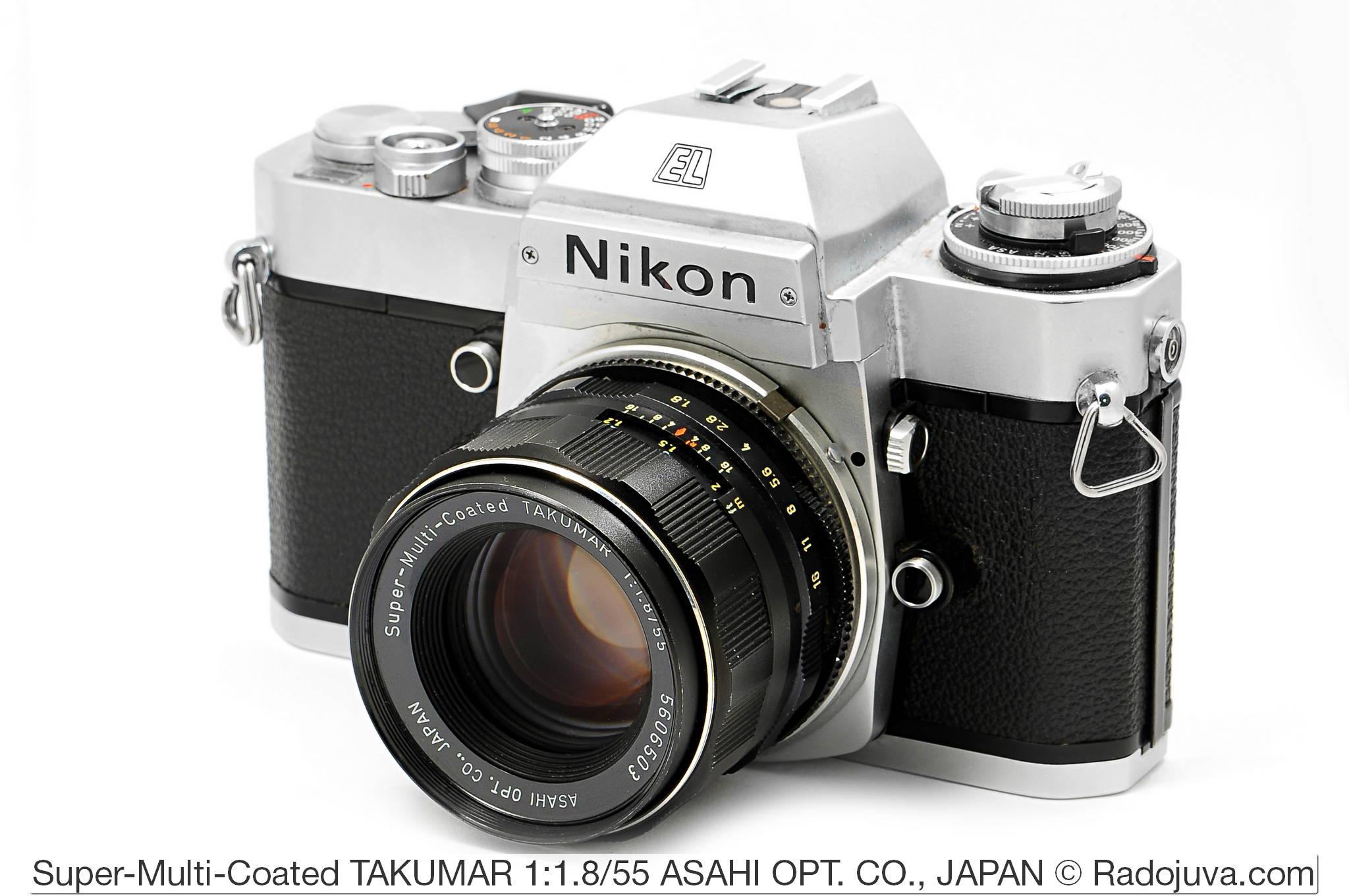 Super-Multi-Coated TAKUMAR 1: 1.8 / 55 ASAHI OPT. CO., JAPAN