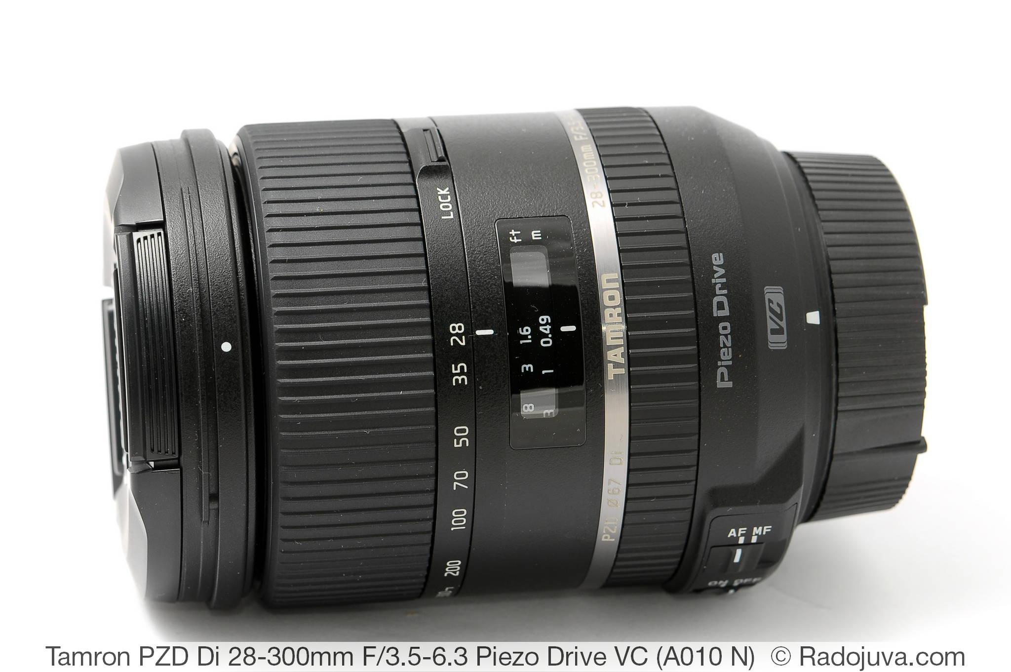 Tamron PZD Di 28-300mm F/3.5-6.3 Piezo Drive VC Model A010