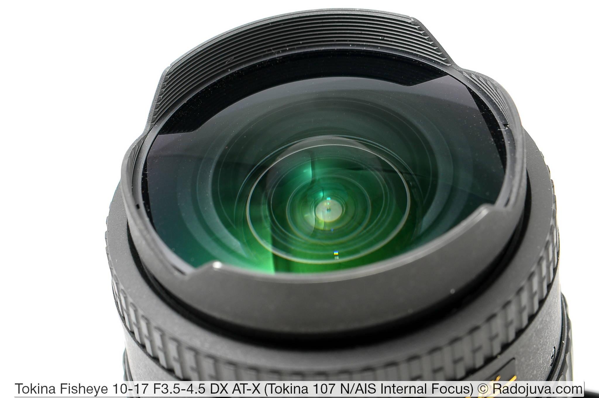 Tokina 107 Fisheye 10-17mm F3.5-4.5 DX AT-X Internal Focus