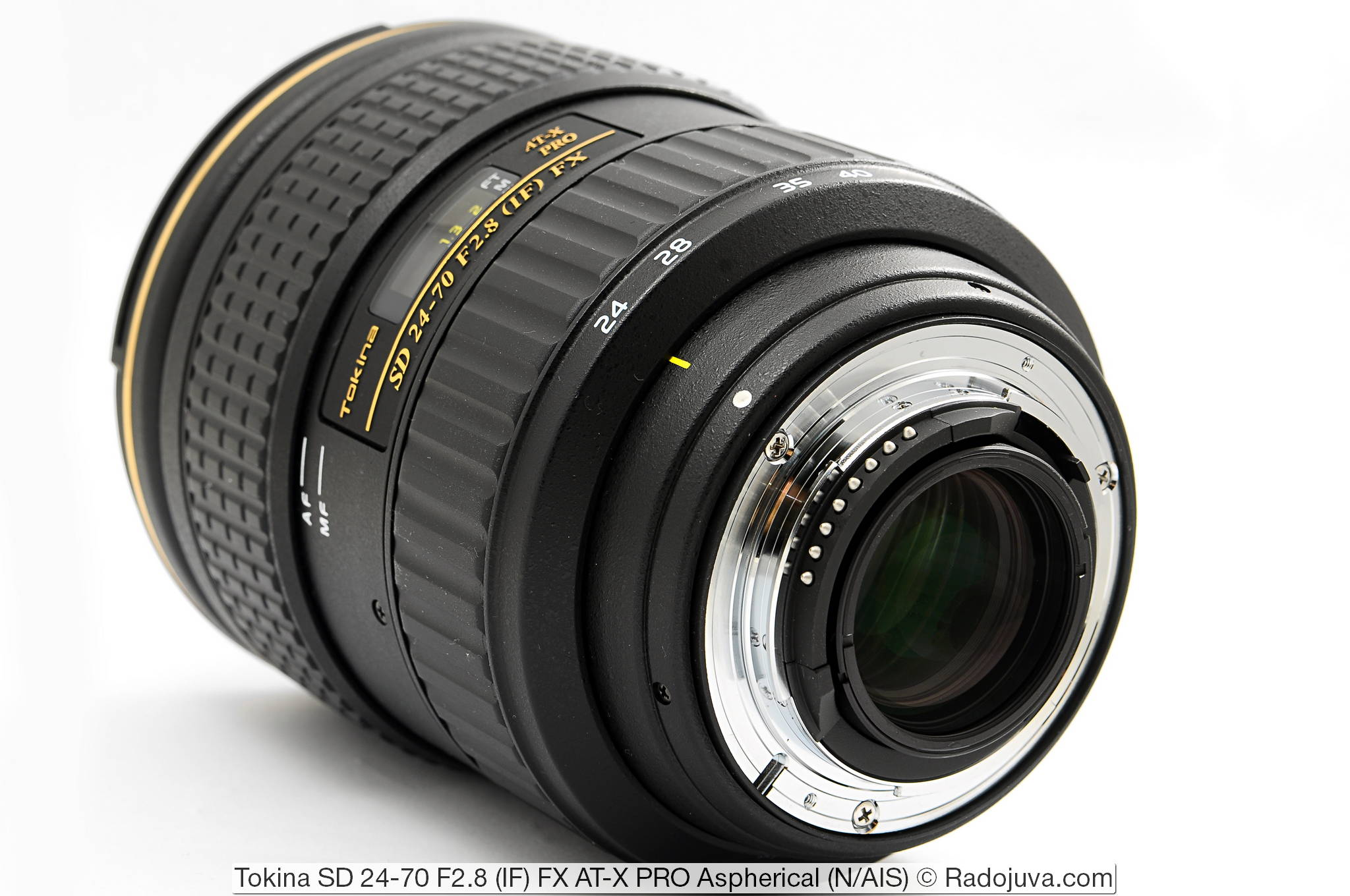 Tokina SD 24-70 F2.8 (IF) FX AT-X PRO Aspherical