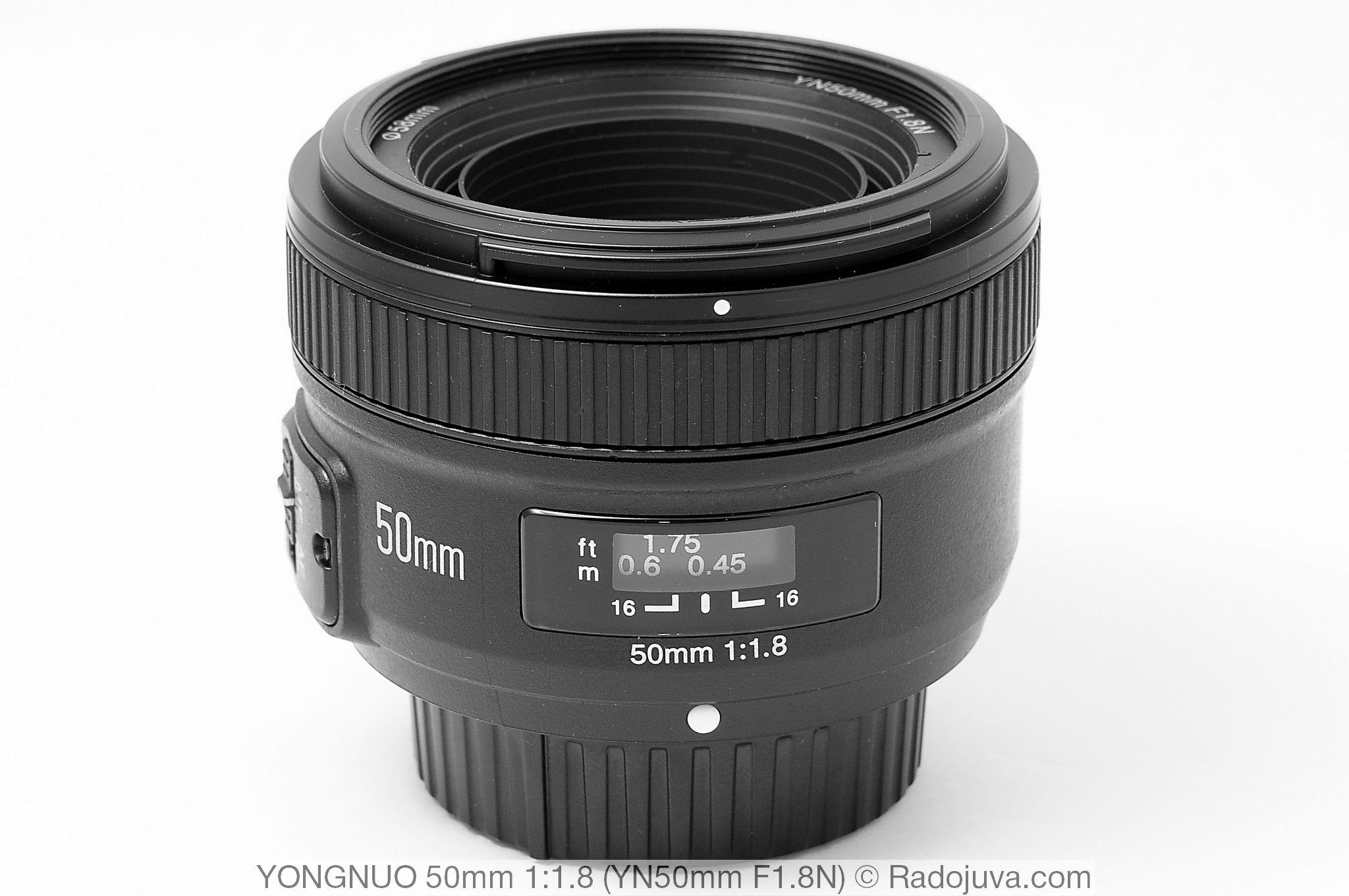 Yongnuo 50mm 1:1.8 (YN50mm F1.8N)