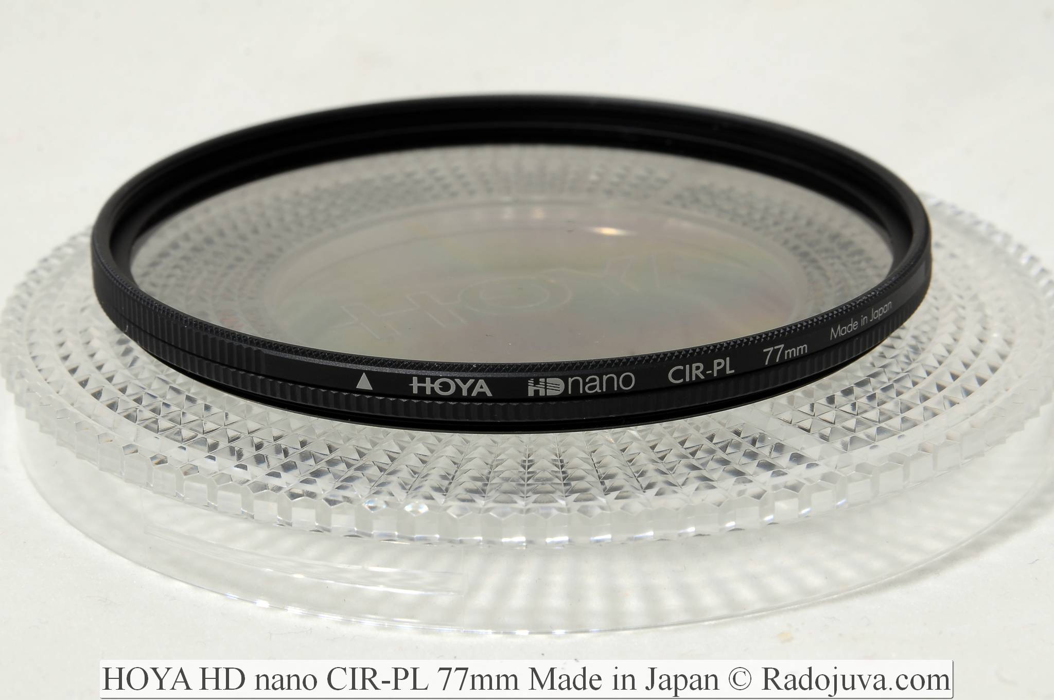 HOYA HD nano CIR-PL 77mm Made in Japan