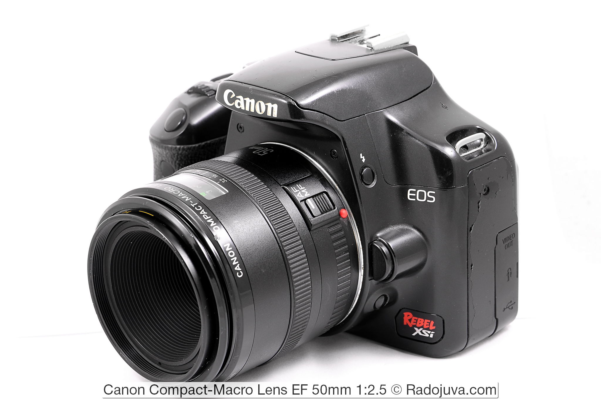 Canon Compact-Macro Lens EF 50mm 1:2.5
