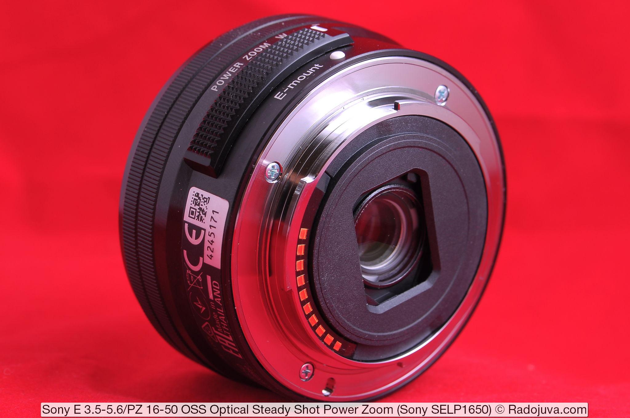 Sony E 3.5-5.6/PZ 16-50 OSS Optical Steady Shot Power Zoom (Sony SELP1650)