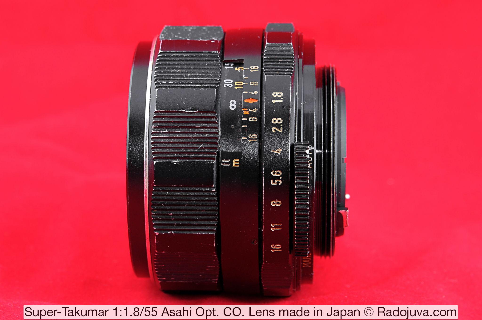 Объектив Super-Takumar 1:1.8/55 Asahi Opt. Co. Lens made in Japan
