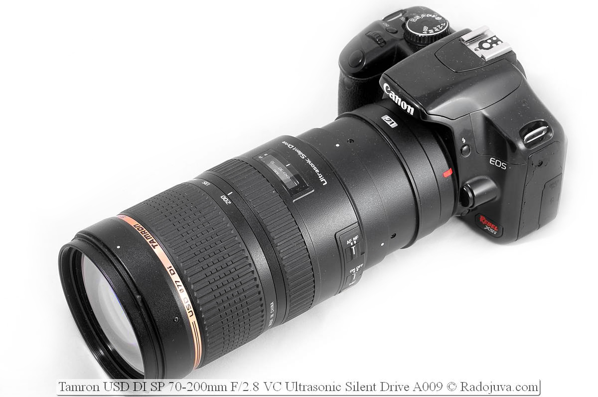 Объектив Tamron USD DI SP 70-200mm F/2.8 VC Ultrasonic Silent Drive A009