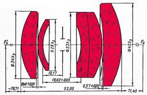 Оптическая схема Vegas-5U