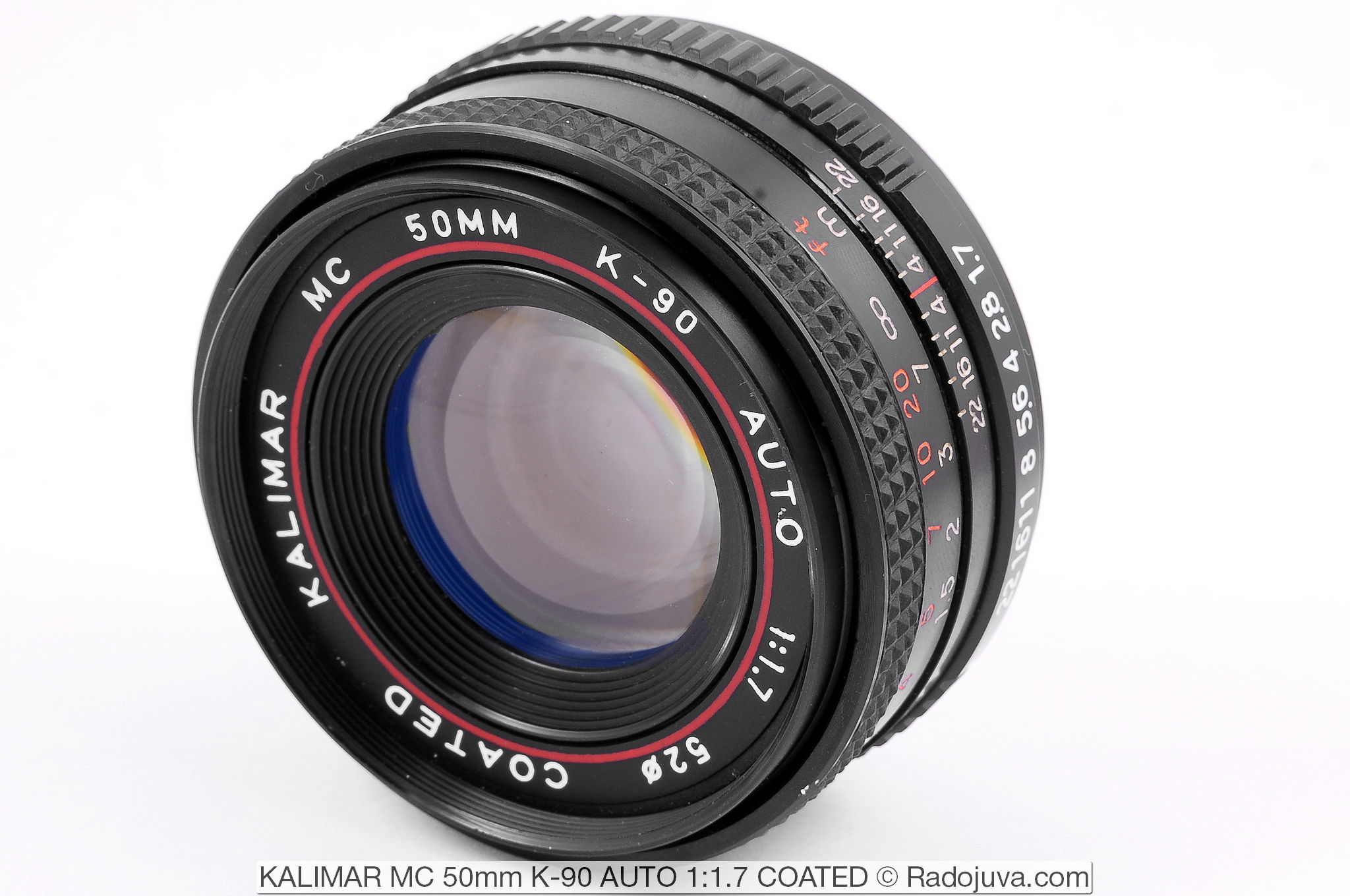 KALIMAR MC 50mm K-90 AUTO 1:1.7 COATED