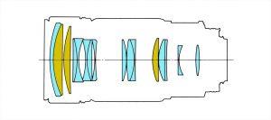 Оптическая схема Nikon 80-200 Mki