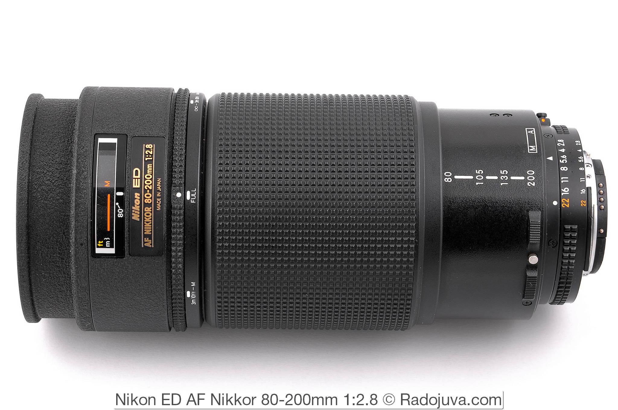 Nikon ED AF Nikkor 80-200mm 1:2.8 (MKI)