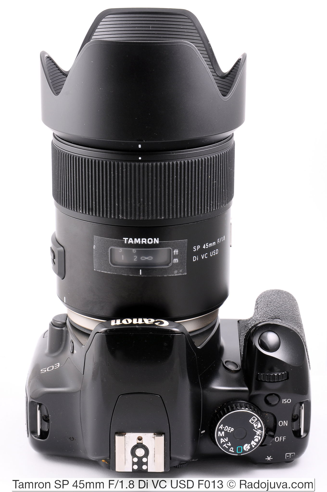F013 Lens Hood Universal 67mm black for Tamron SP 45 mm F1.8 Di VC USD