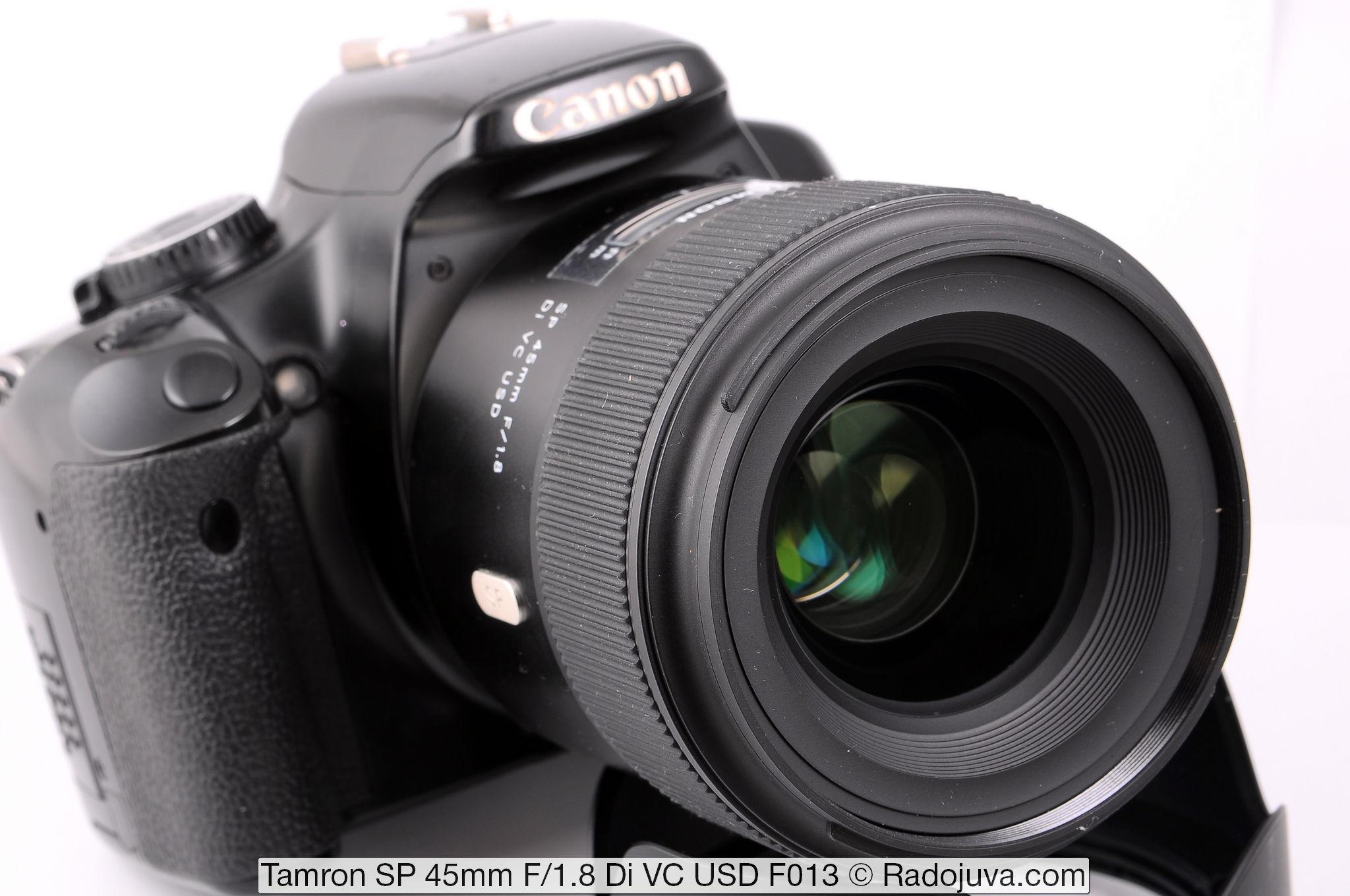 Tamron SP 45mm F/1.8 Di VC USD F013