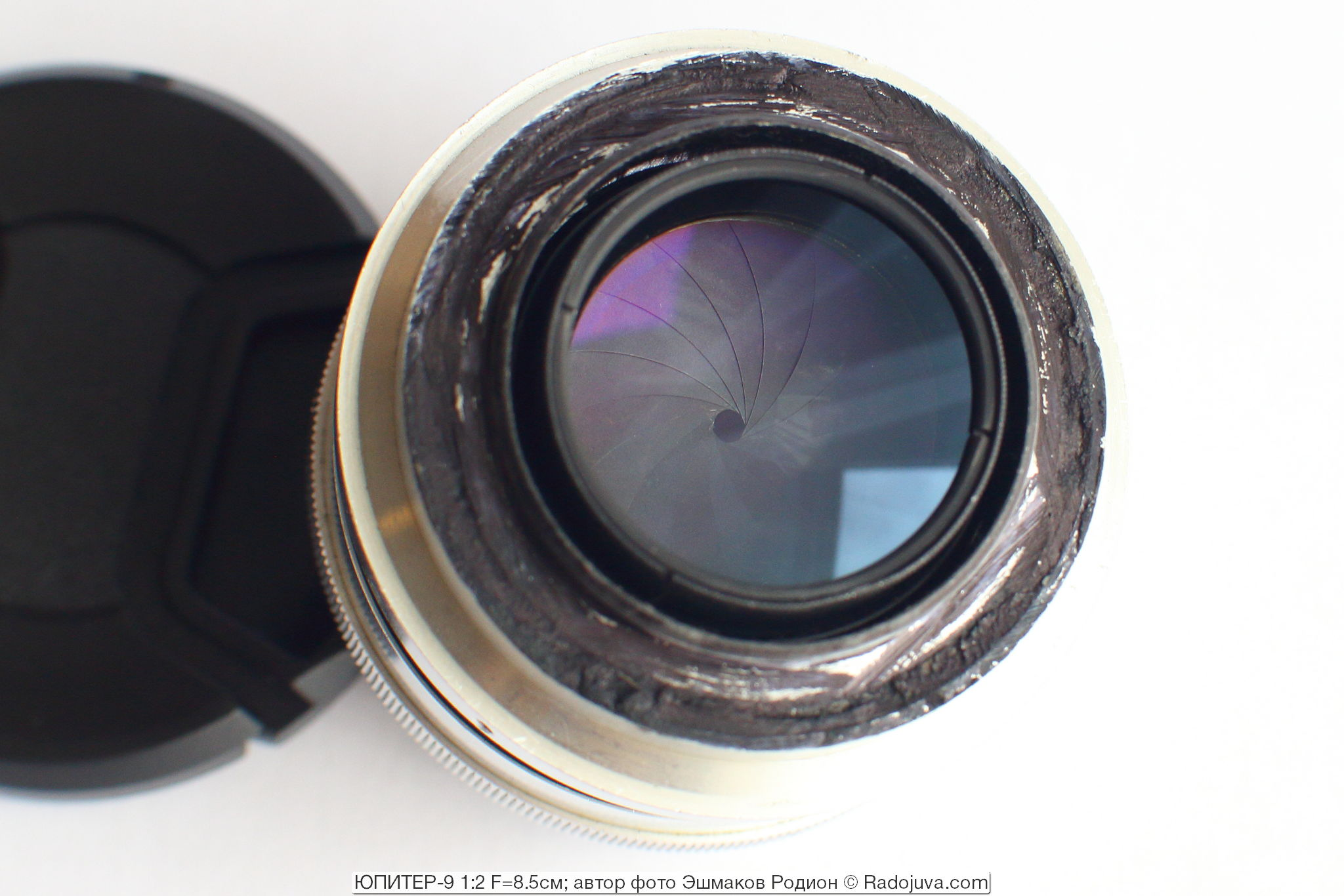 Диафрагма объектива Юпитер-9