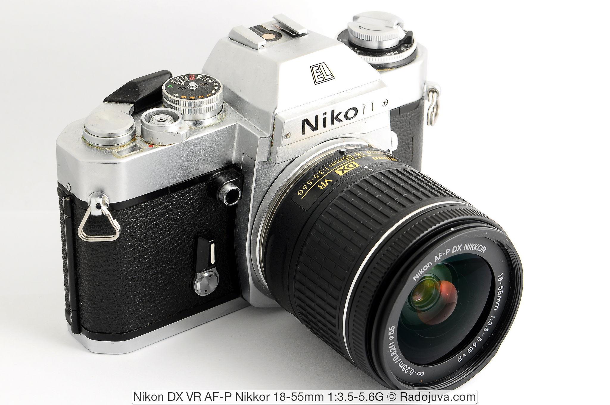 Nikon DX VR AF-P Nikkor 18-55mm 1:3.5-5.6G