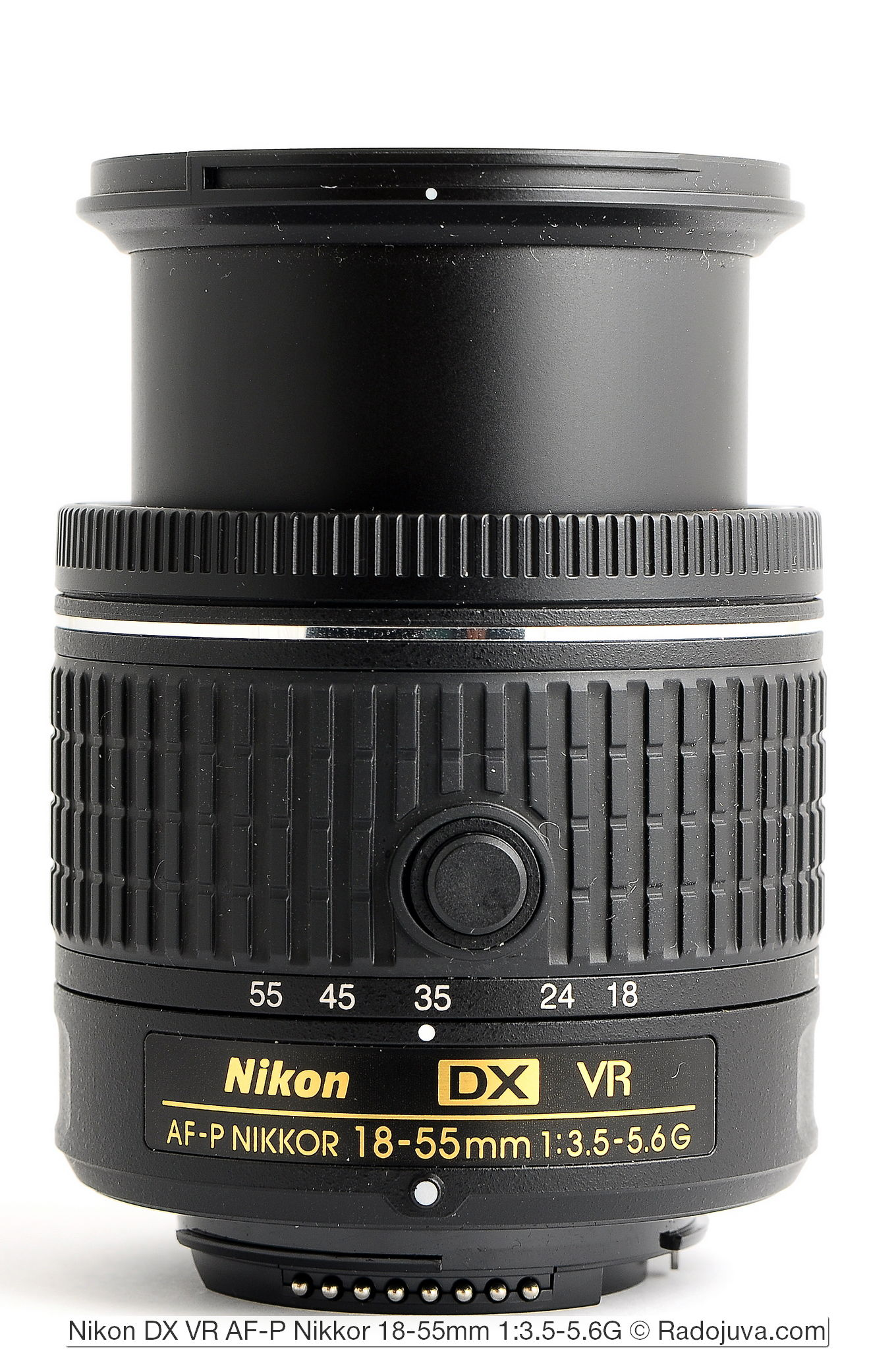 Объектив Nikon DX VR AF-P Nikkor 18-55mm 1:3.5-5.6G