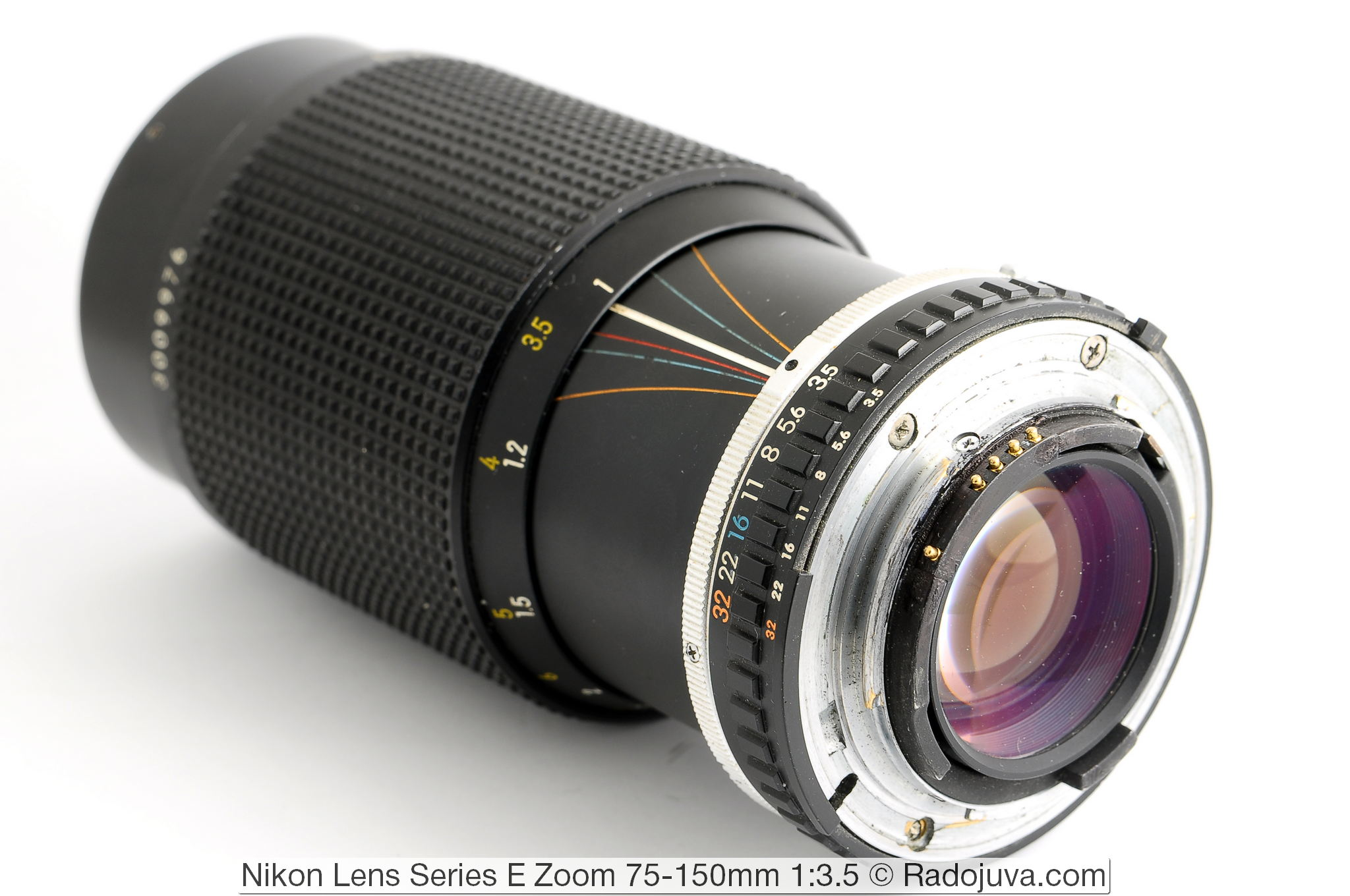 Nikon Lens Series E Zoom 75-150mm 1:3.5 (MKII)