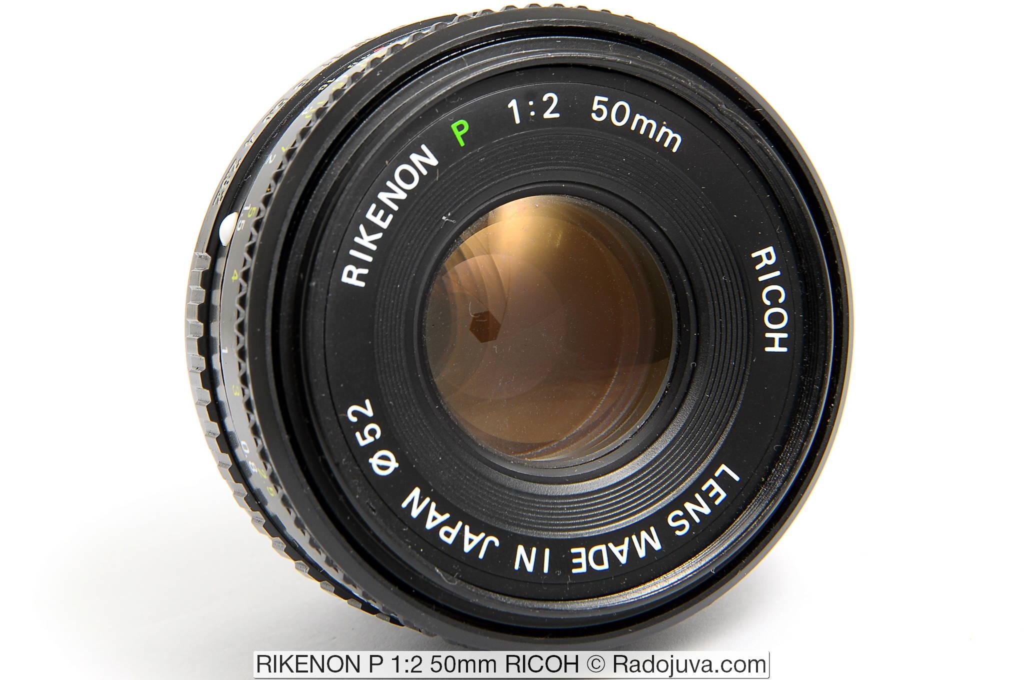 RIKENON P 1:2 50mm RICOH
