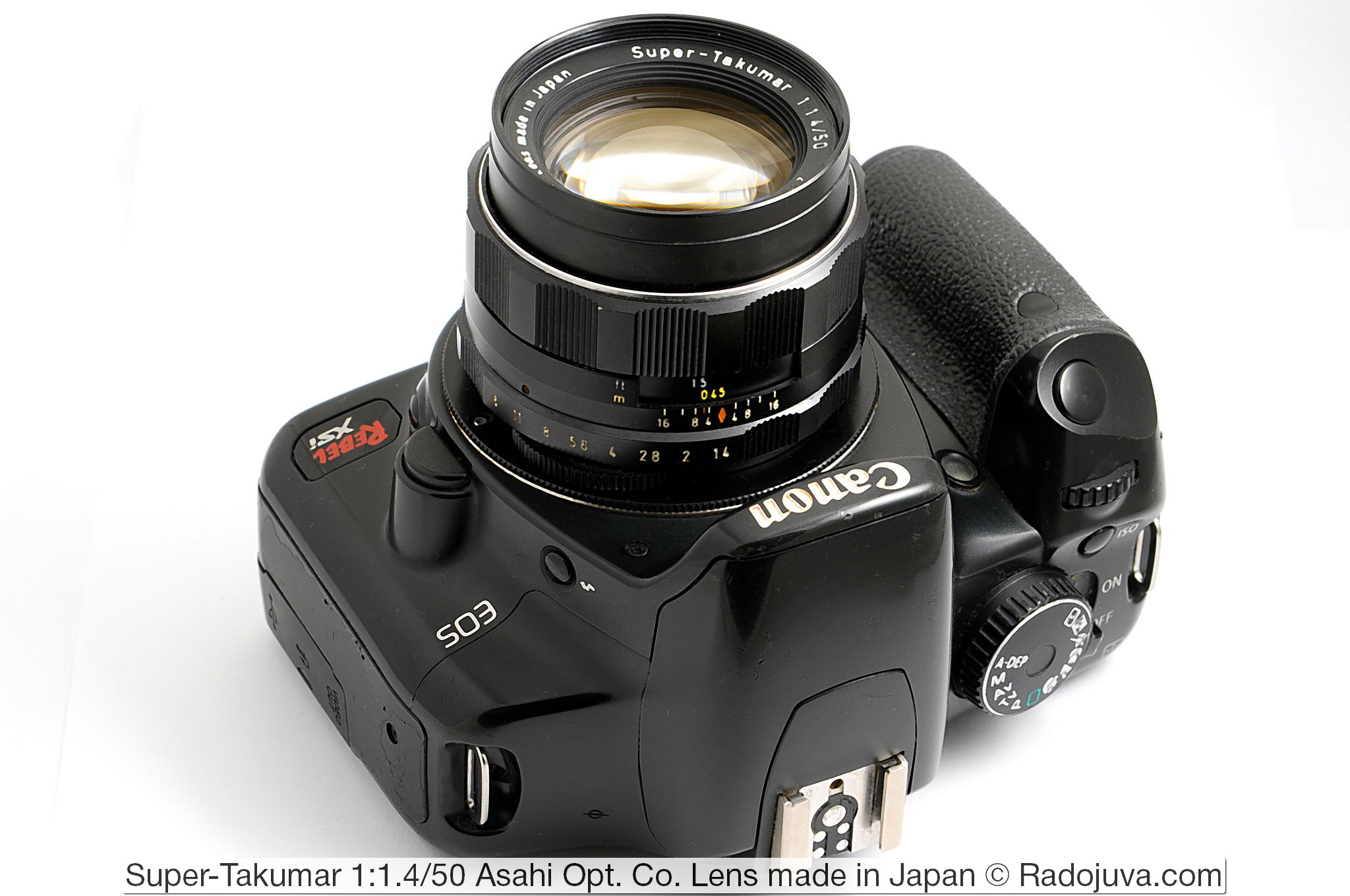 Super-Takumar 1:1.4/50 Asahi Opt. Co. Lens made in Japan