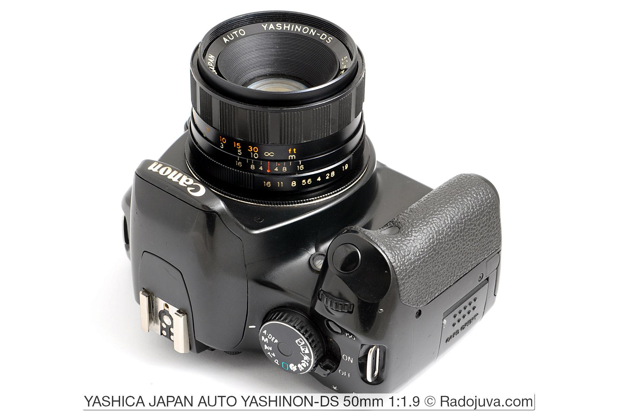 YASHICA JAPAN AUTO YASHINON-DS 50mm 1:1.9